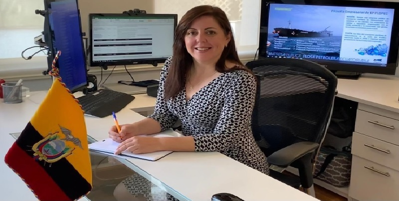 Directorio de FLOPEC EP nombra a Pilar Ferri Moncayo como nueva Gerente General de la Empresa Pública