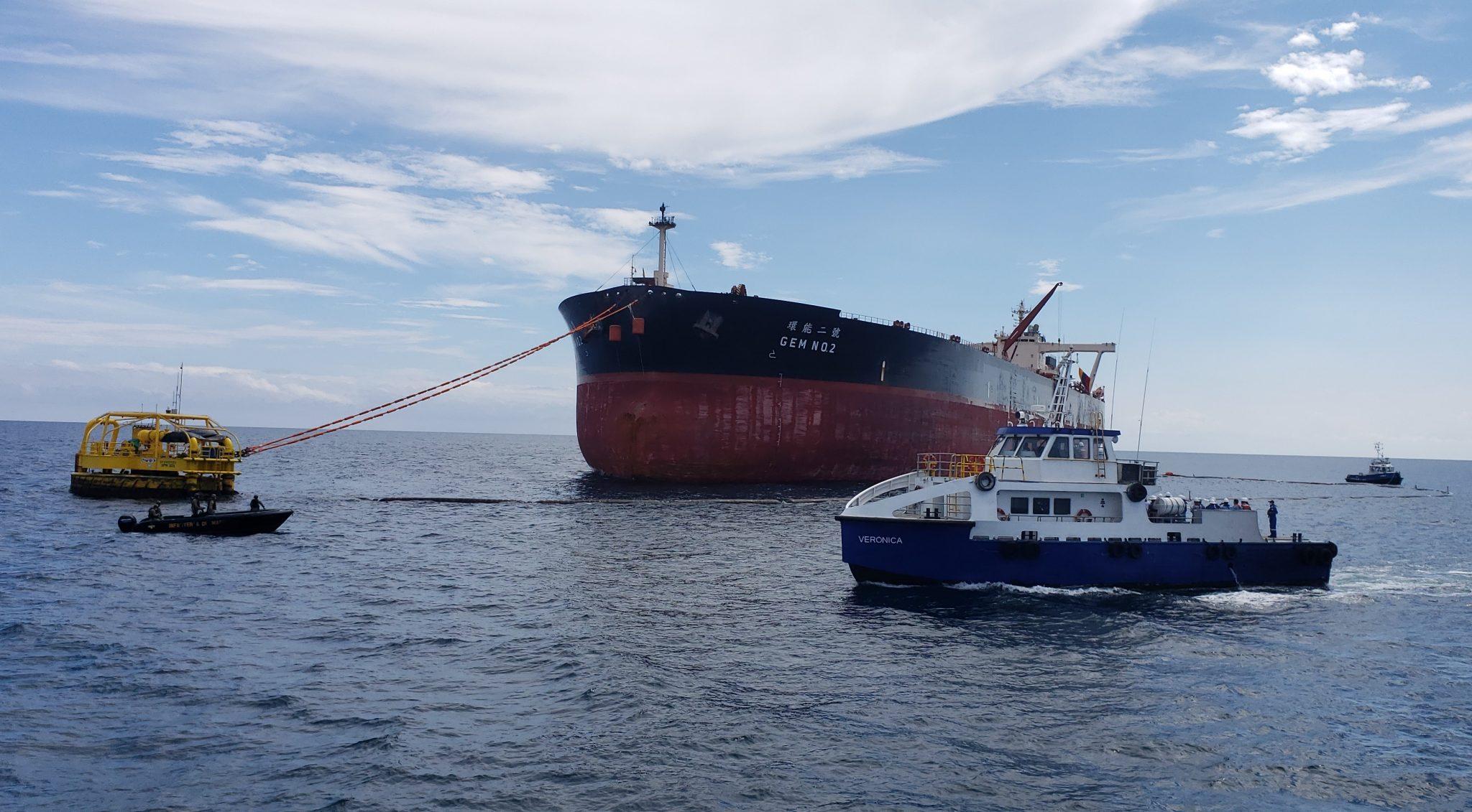 Ecuador exportó por primera vez crudo oriente en buque de alto calado, a través del terminal marítimo de ocp.